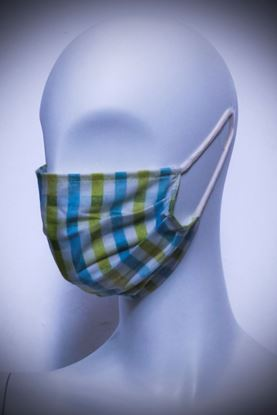 Picture of Mask in organic cotton and bamboo Scottish Basic