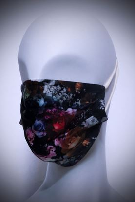 Picture of Mask in organic cotton and bamboo Dream Flower