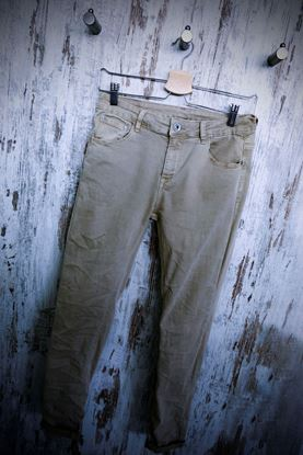 Picture of Beige Jeans Trousers