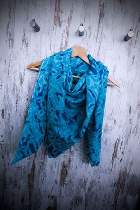 Picture of Abstract Silk Cotton Scarf
