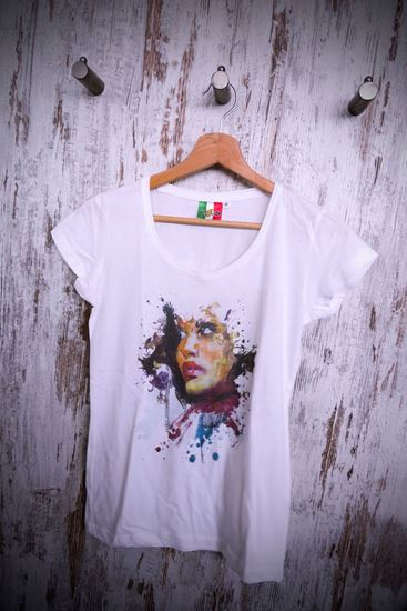 Immagine di T Shirt stampa Woman
