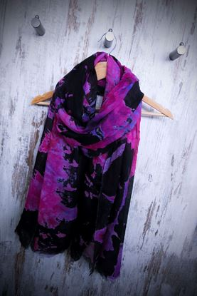 Picture of Maxi Lyocel Tie and Dye stole